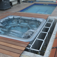 Hot Tub Cover Support