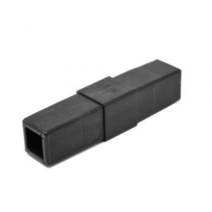 200-302-HF 2-Way Black Coupler Connector, Hammer Fit