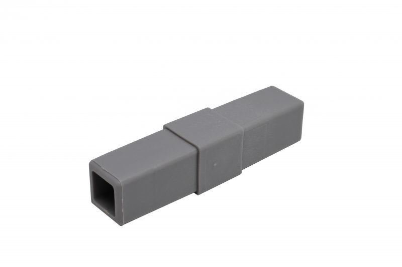 200-303-HF 2-Way Gray Coupler Connector, Hammer Fit