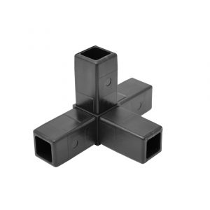 200-316-HF 4-Way Black Connector, Hammer Fit