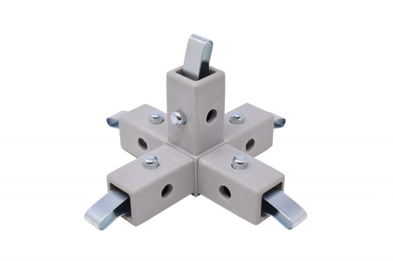 200-321-QR 5-Way Gray Connector, Quick-Release