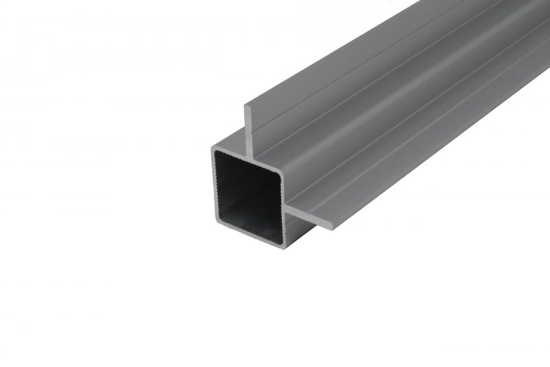 "100-191 2-Way Fin Extrusion for 1/2"" Flush Panel"